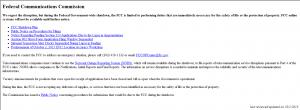FCC shutdown